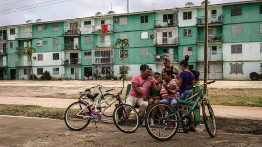 "In a small Cuban town  some 500 people from a population of 7,500 use ""Gaspar Social,"" an illegal but tolerated answer"
