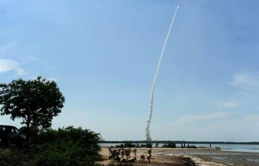 India is competing with other international players for a greater share of  the business of putting commercial satellites into s