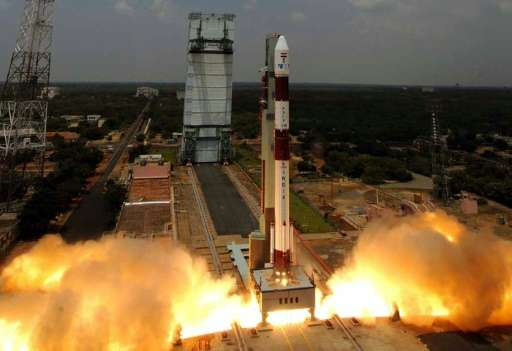 India's Polar Satellite Launch Vehicle would be carrying a 714 kilogram main satellite for earth observation and 103 smaller &qu