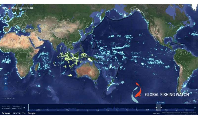 Indonesia makes its fishing fleet visible to the world through Global Fishing Watch