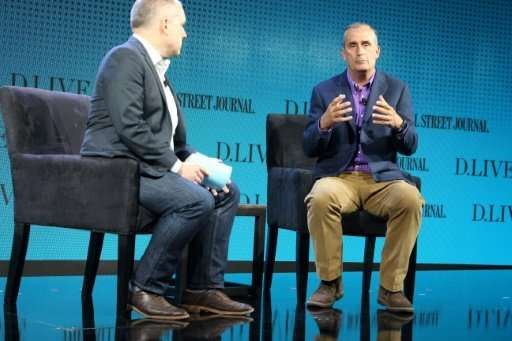 Intel CEO Brian Krzanich says his company wants to be at the forefront of computer chips designed for artificial intelligence ap