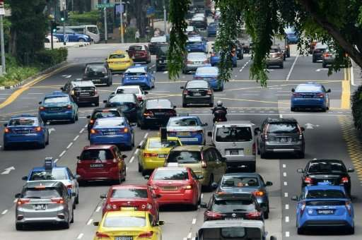 road congestion in singapore