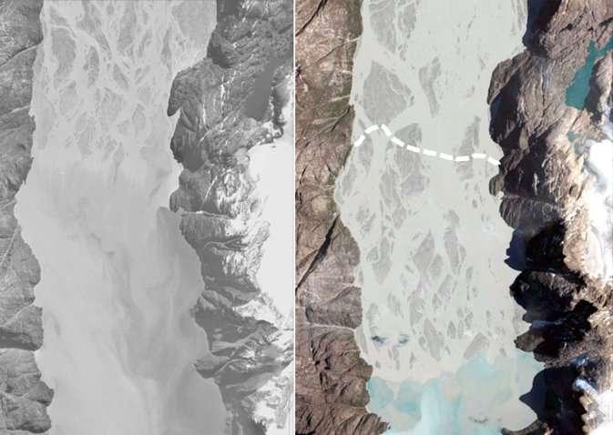 In warmer climates, Greenlandic deltas have grown