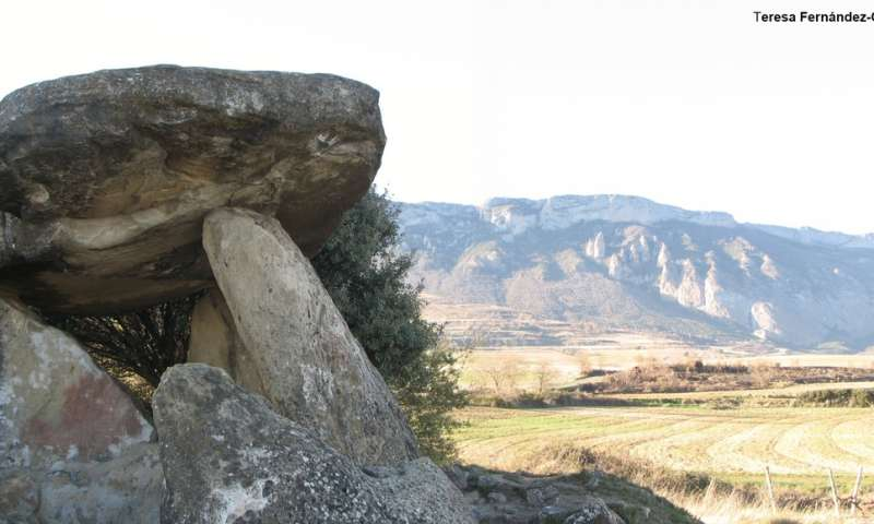 Isotopic analyses link the lives of Late Neolithic individuals to burial location in Spain