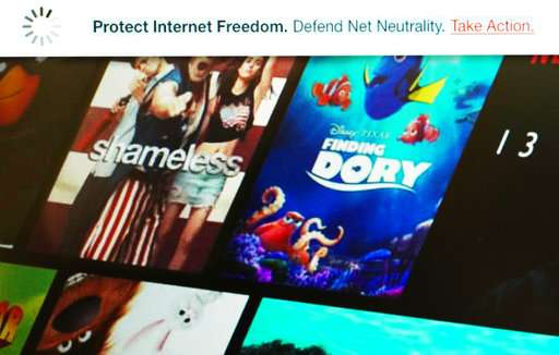 ISPs surprise net neutrality fans on protest day