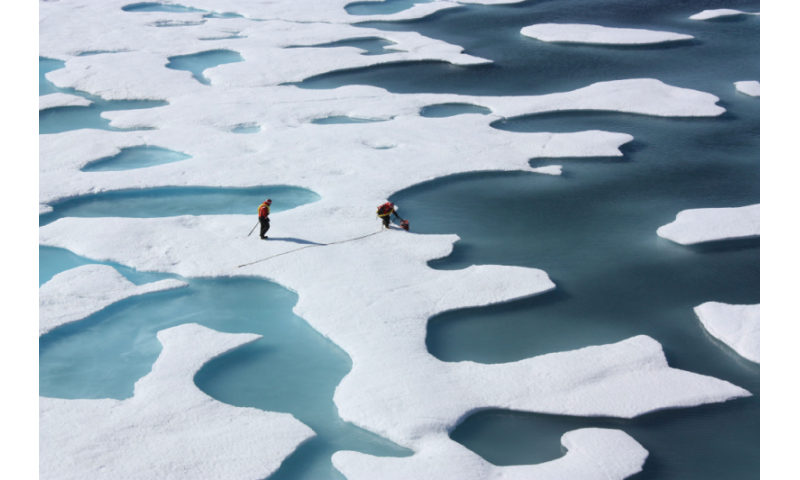 It might be possible to refreeze the icecaps to slow global warming