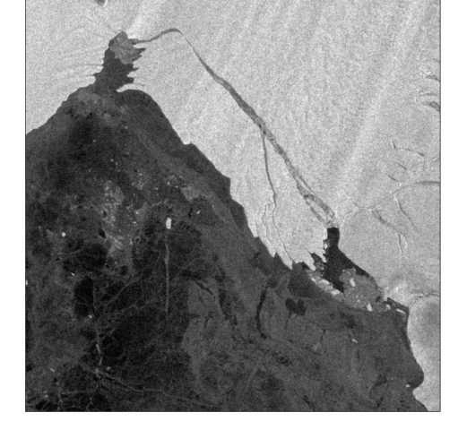 Large iceberg breaks off Pine Island Glacier