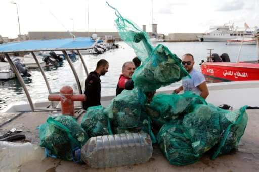 Lebanon faces a garbage crisis producing 6,000 tonnes of refuse a day.