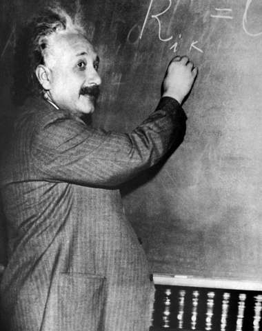 Letters from Swiss-US physicist Albert Einstein (1879-1955), here shown in an undated portrait, are going for sale in Israel