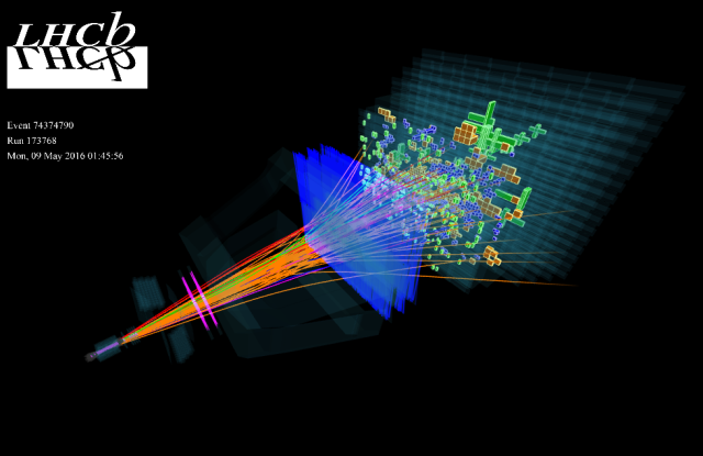 LHCb observes an exceptionally large group of particles