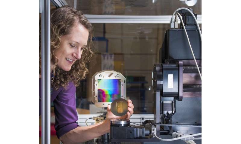 Lighting up the study of low-density materials