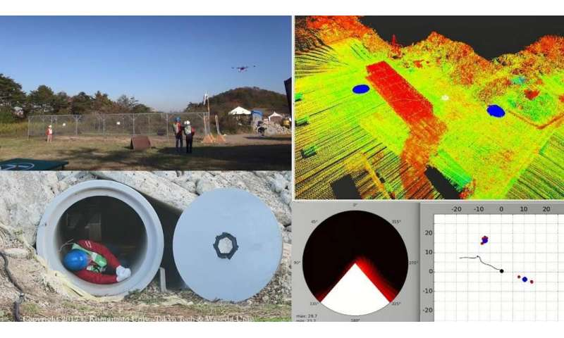 'Listening' drone helps find victims needing rescue in disasters
