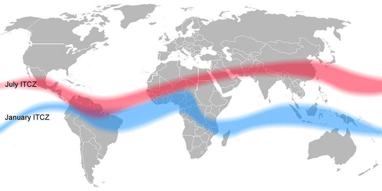 Little Ice Age displaced the tropical rain belt