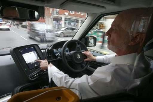 London cab driver, Peter Powell, 61, who has been driving for close to 22 years, believes customers are going to like the ride o
