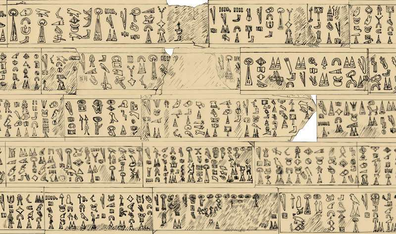 Luwian hieroglyphic inscription explains the end of the Bronze Age