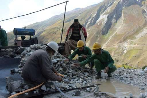 Major international mining companies are reluctant to invest in Pakistan, which has been plagued by legal disputes over major co