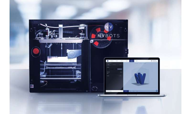 Making 3-D printing as simple as printing on paper