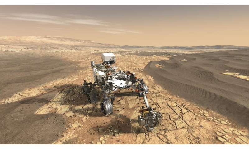 Mars 2020 mission to use smart methods to seek signs of past life