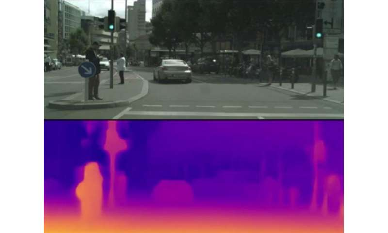 Measuring distance with a single photo