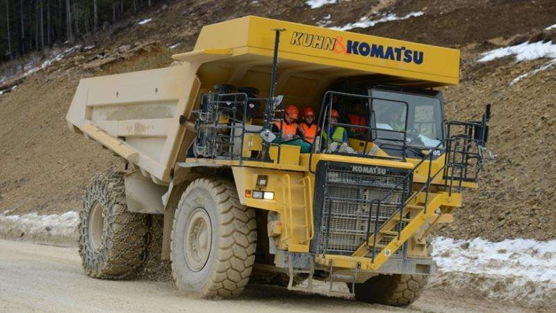 Meet the E-dumper, the world's largest electric vehicle