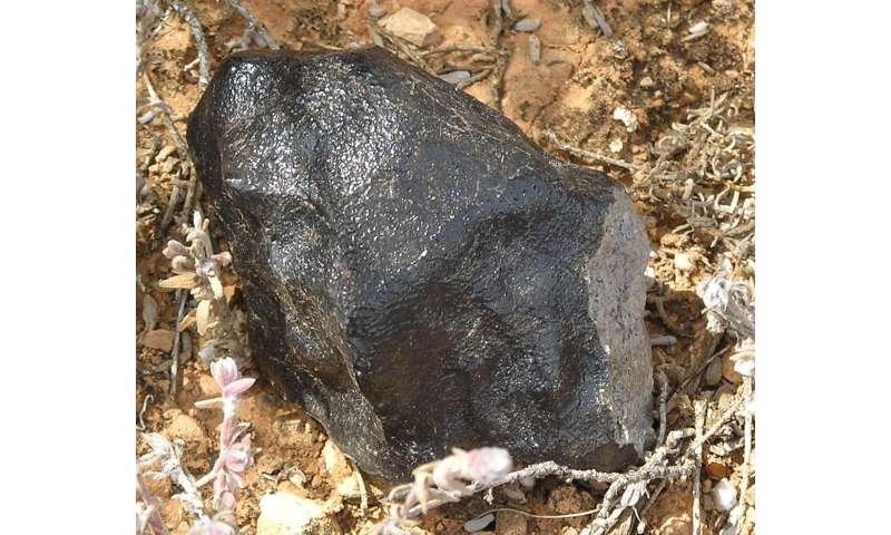 Meteorite's origins point to possible undiscovered asteroid