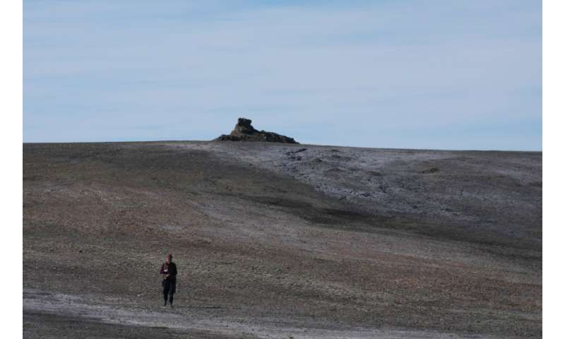 Methane seeps in the Canadian high Arctic