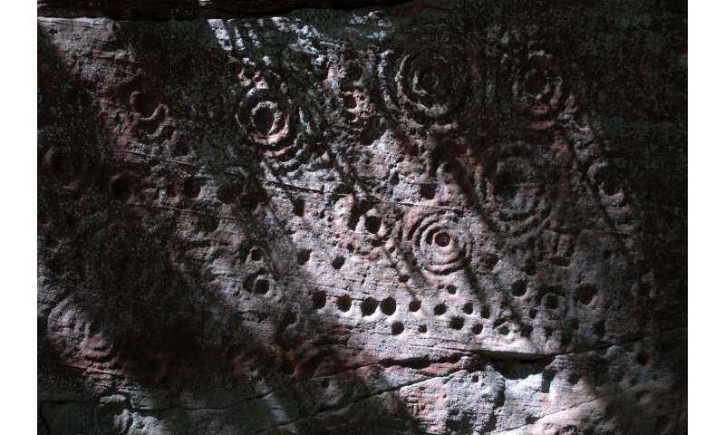 Mixing the ancient and the new -- preserving rock art at the touch of a button