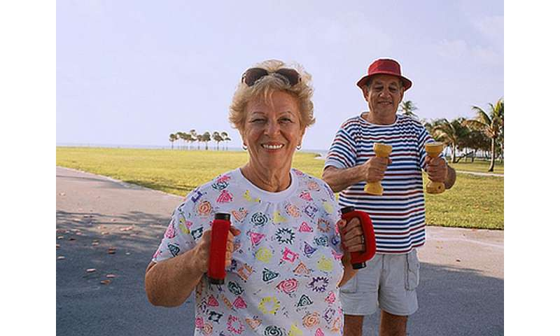 Moderate, vigorous activity not tied to more elderly falls