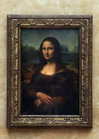 Mona Lisa's portrait appears to many to be smiling sweetly at first, only to adopt a mocking sneer or sad stare the longer you l