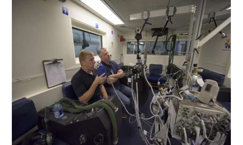 Monitoring astronauts' lung health