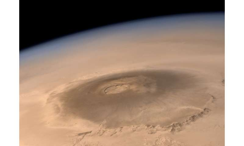 Monster volcanoes on Mars—how space rocks are helping us solve their mysteries