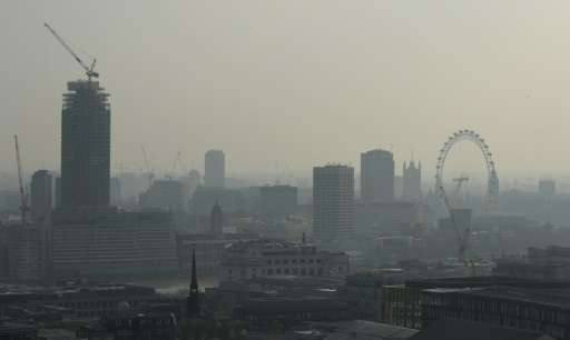 More than 40,000 British deaths a year are attributable to exposure to outdoor air pollution, according to a survey last year