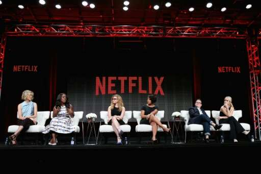 Most of Netflix's subscriber growth came from outside the United States, where the company has invested heavily in establishing