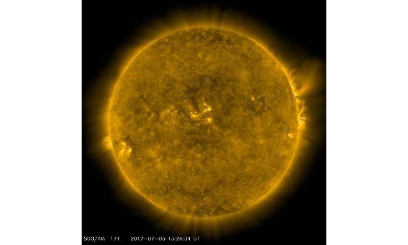 Musical sun reduces range of magnetic activity