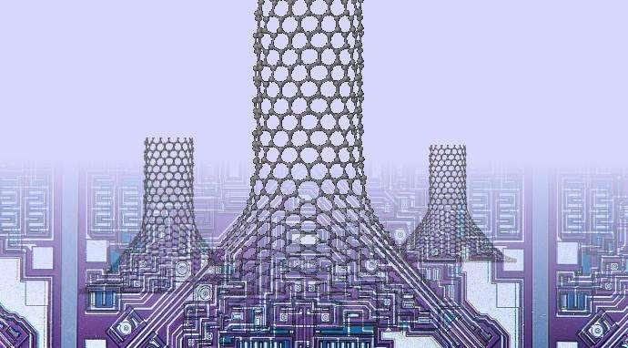 Nano-chimneys can cool circuits