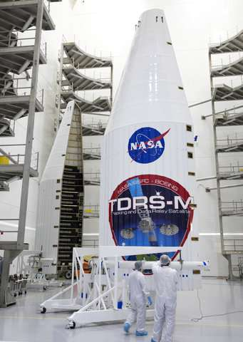 NASA delays satellite launch to replace damaged antenna