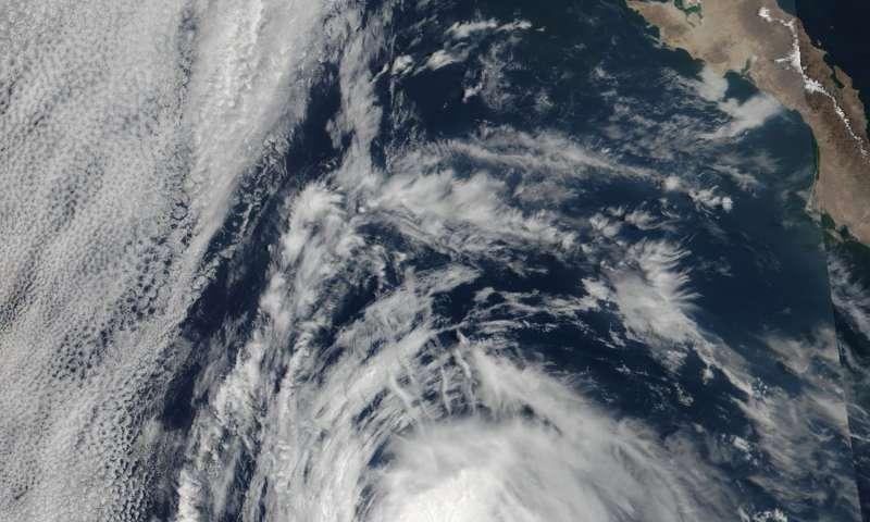 NASA found heavy rainfall in Hurricane Eugene