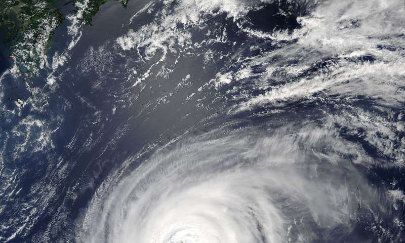 NASA keeps an eye on Typhoon Noru