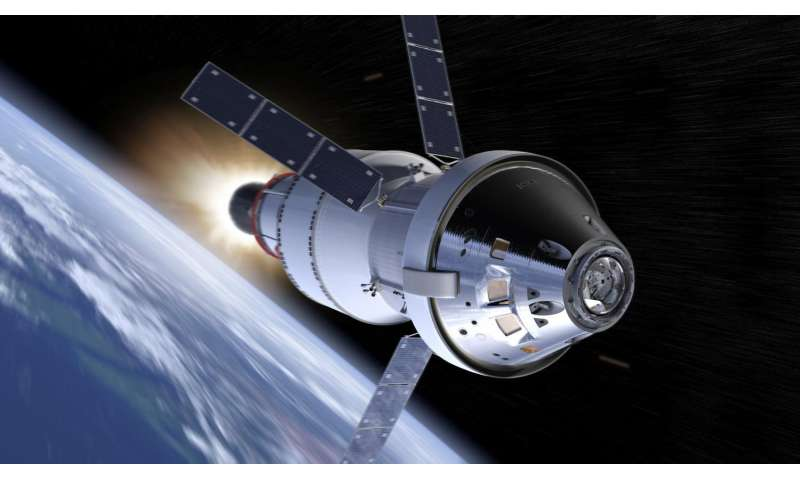 NASA laser communications to provide Orion faster connections
