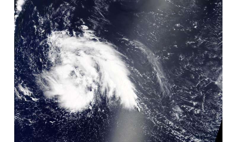 NASA notes 9th northwestern Pacific Tropical Cyclone
