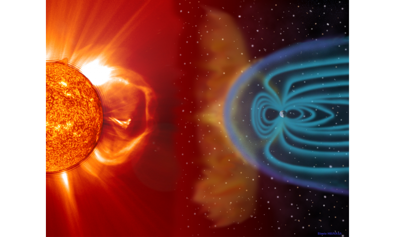 NASA Ppotects its super heroes from space weather