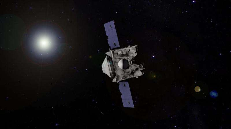 NASA's asteroid sample return mission successfully adjusts course