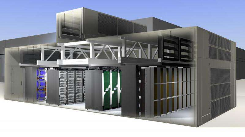 NASA saves energy and water with new modular supercomputing facility