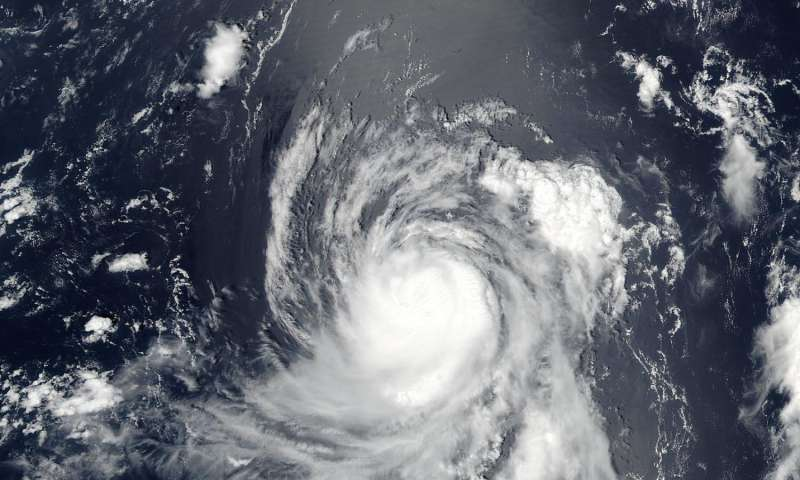 NASA sees a tightly wound Typhoon Banyan