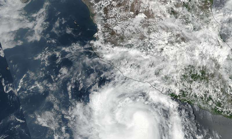 NASA sees quick development of Hurricane Dora