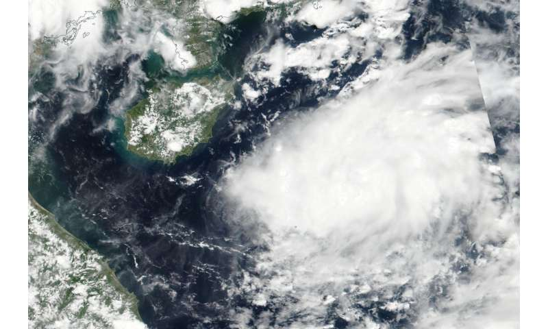 NASA spots newly formed Tropical Depression 08W in South China Sea