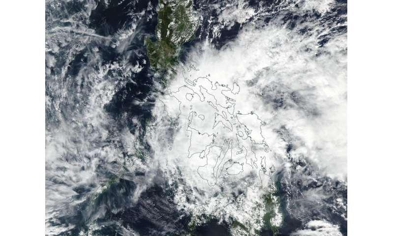 NASA spots short-lived Tropical Depression 01W