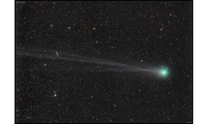 NASA study hints at possible change in water 'fingerprint' of comet