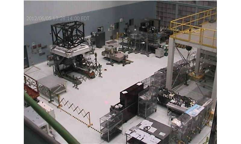 NASA's 'Webb-cam' captures engineers at work on Webb at Johnson Space Center