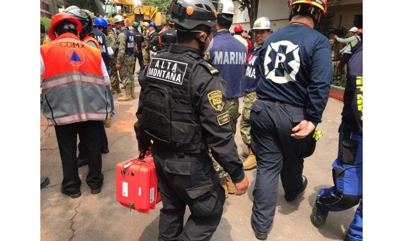 NASA tech aids search following Mexico quake